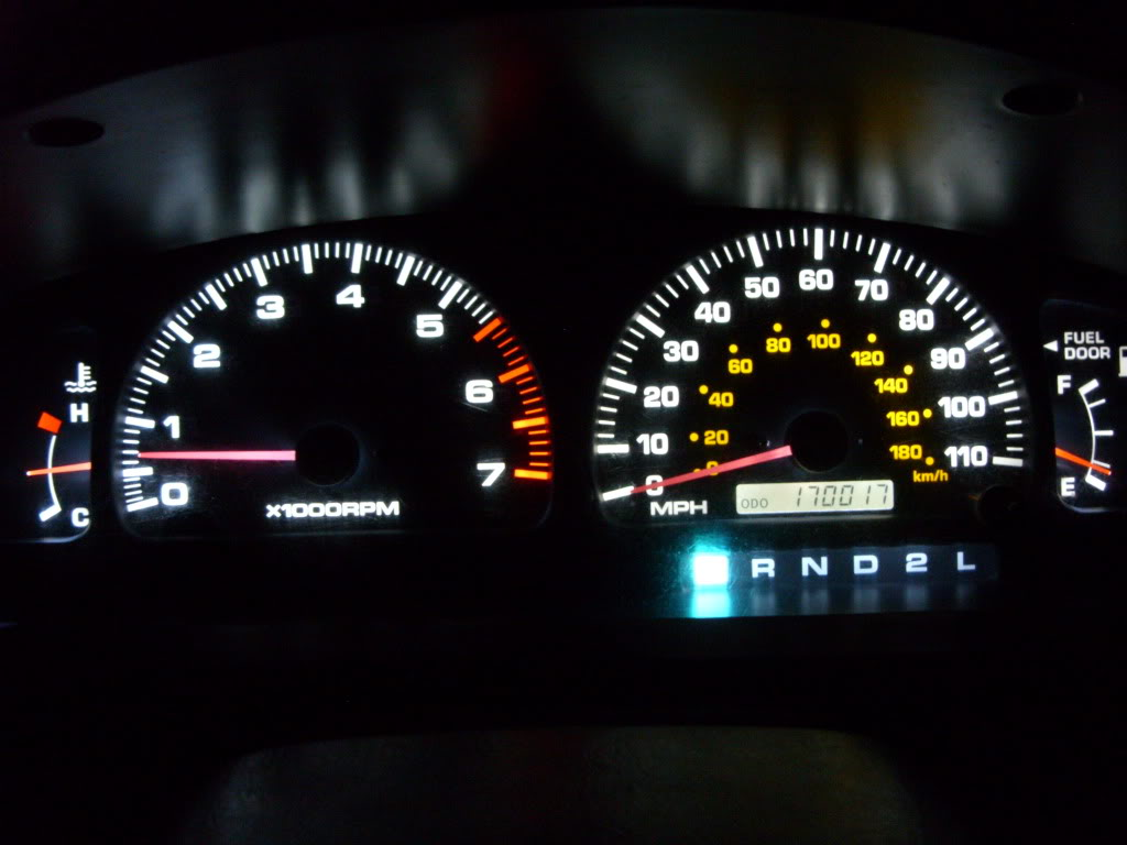 Dash lights - Toyota 4Runner Forum - Largest 4Runner Forum