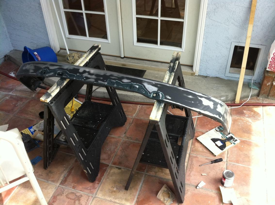 Best method to paint a bumper? (you might be doing it wrong