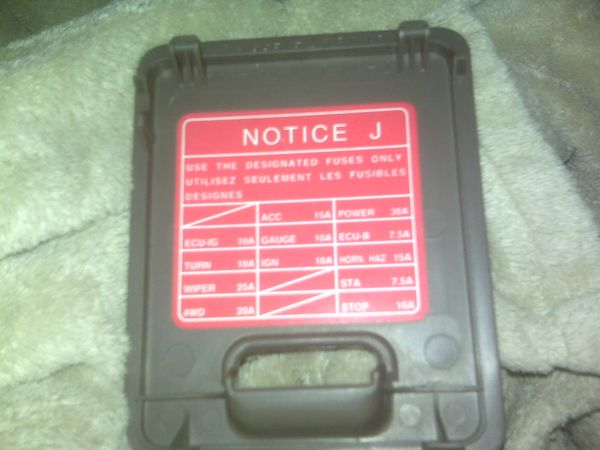 2001 toyota 4runner fuse box 2001 wiring diagrams online