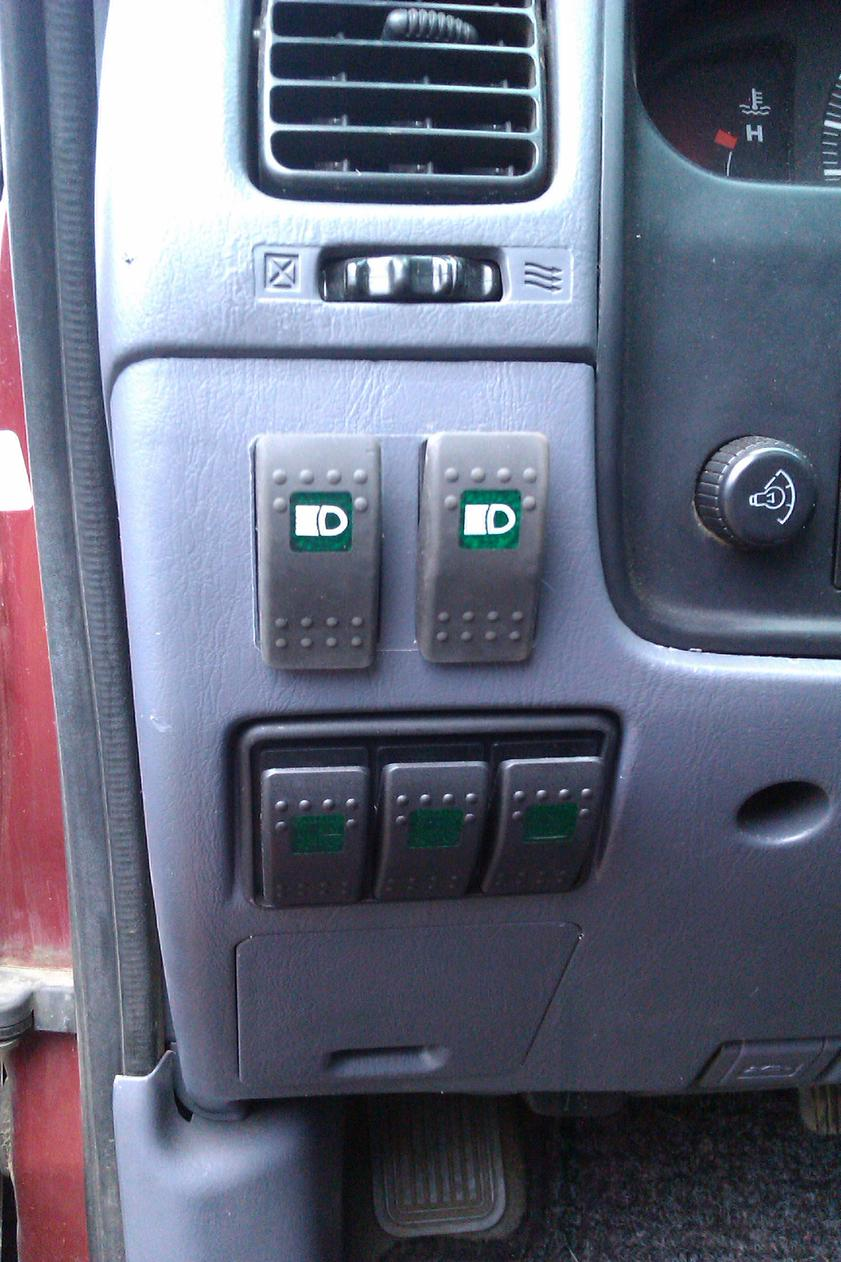 Off Road Light Switch Toyota 4runner Forum Largest Need Some Help With Hella Lights Wiring Dash Switches