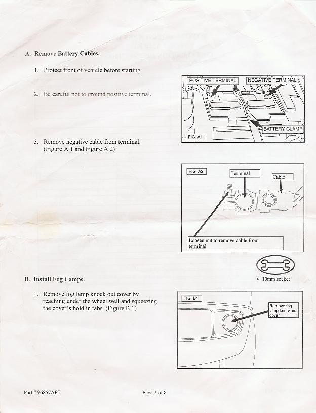 hella fog light installation instructions  toyota 4runner