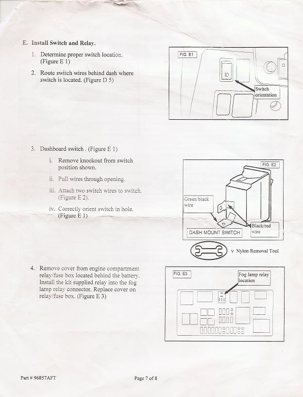 hella fog light installation instructions