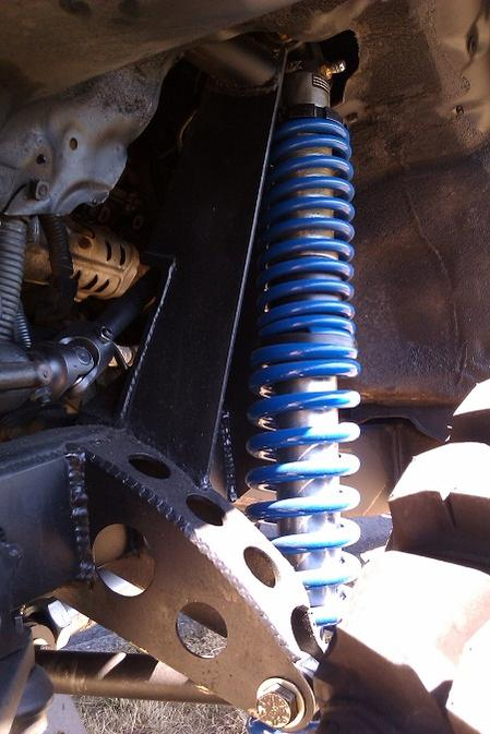 Im starting to get the 2 5yr blues   solid front axle swap