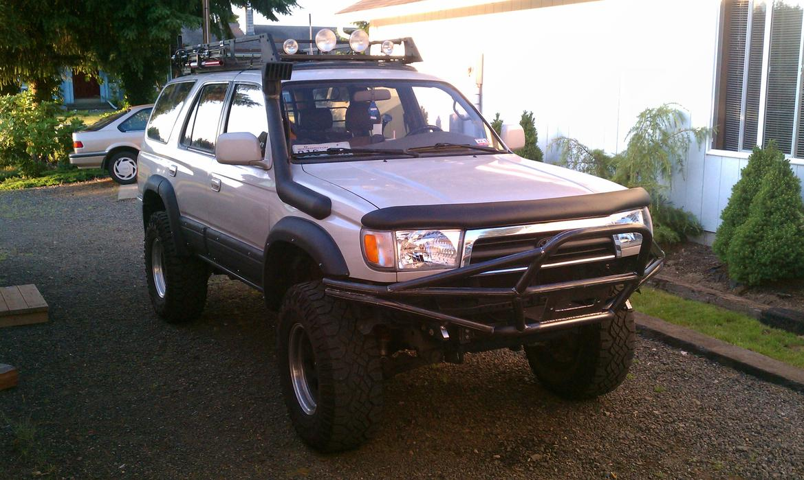 Painted Limited Fender Flares Pic Request Toyota 4runner