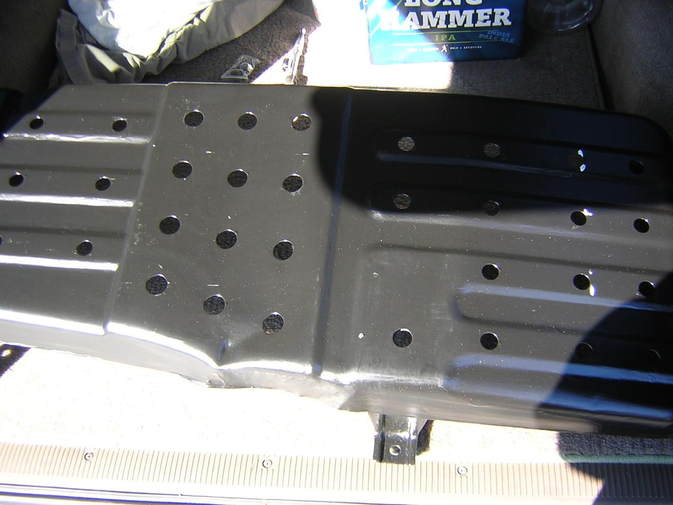 77606-35050 NO RUST 96-02 Toyota 4Runner Gas Fuel Tank Skid Plate Shield OEM