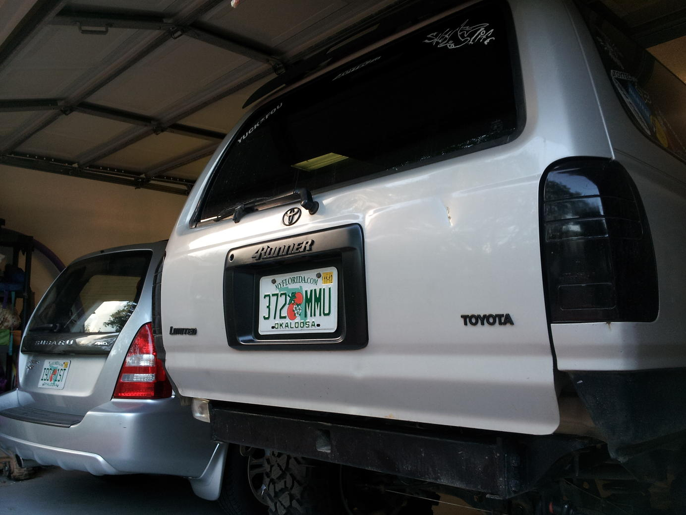 Painting license plate frame - Toyota 4Runner Forum - Largest ...