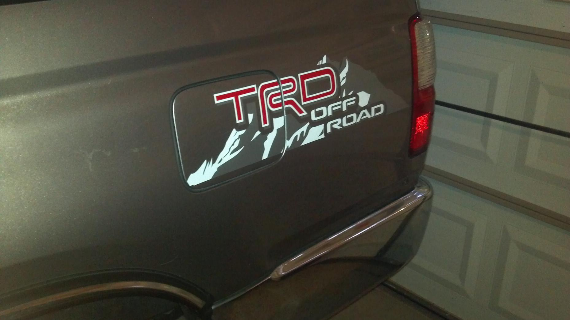 Trd Off Road Decals Page 2 Toyota 4runner Forum