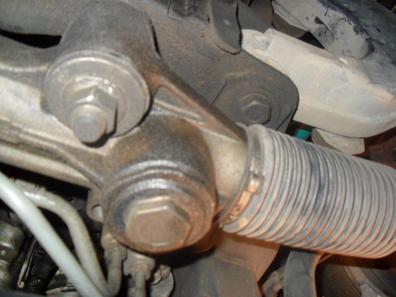 Steering rack leaking from the guide bolt? - Toyota 4Runner