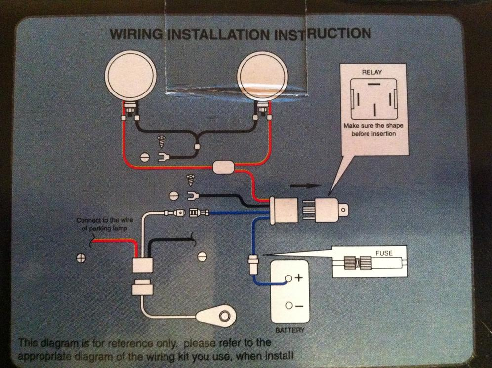 Toyota Hilux Fog Lights Wiring Diagram