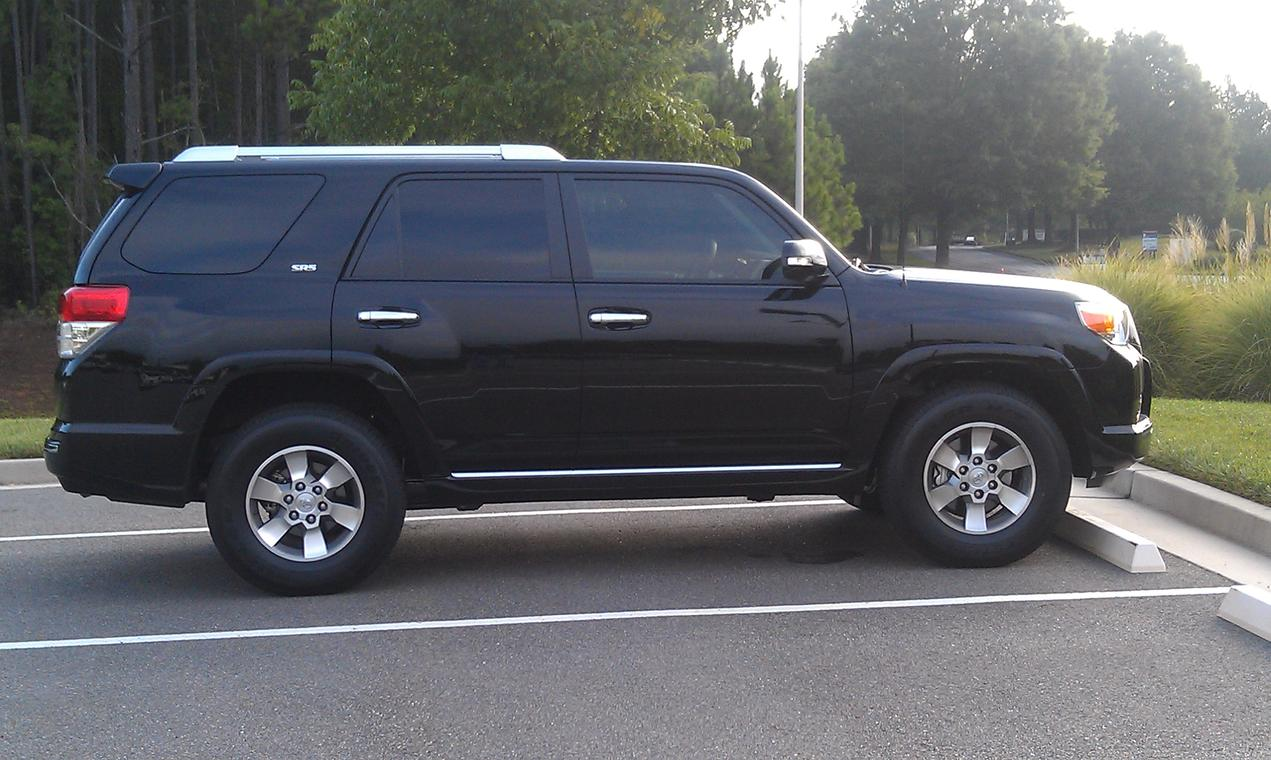 New window tint y 39 all page 2 toyota 4runner forum for 2 5 window tint