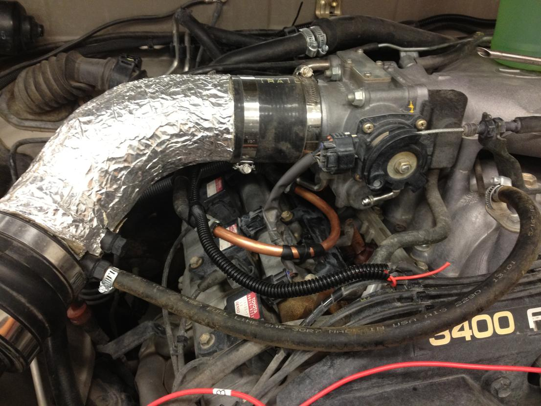 Throttle Body Coolant Bypass Pic Toyota 4runner Forum