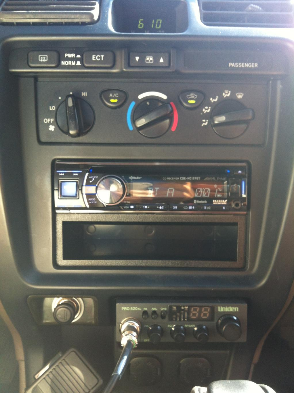 98 expedition aftermarket stereo install
