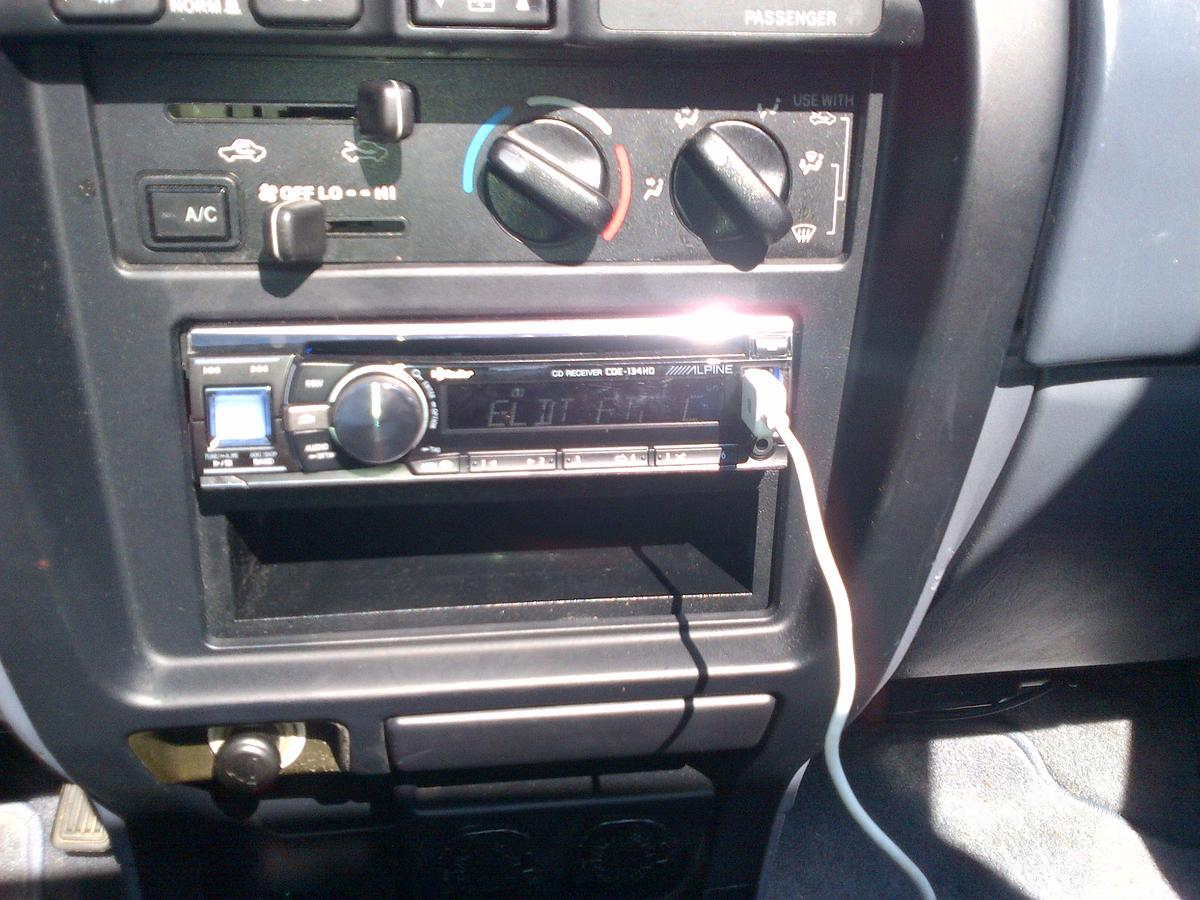 3rd Gen Stereo Head Unit Install w Pic s Toyota 4Runner