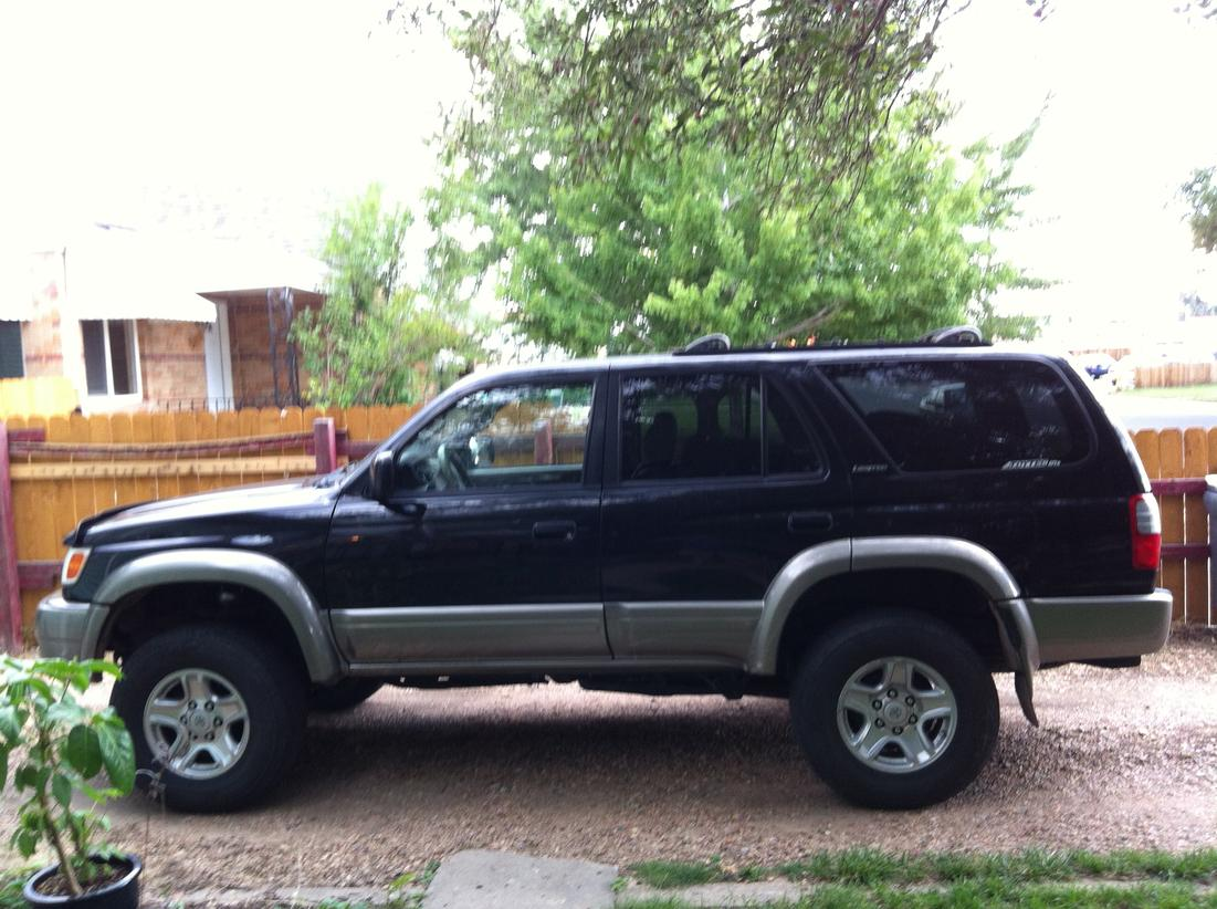 3 inch lift with stock tires pics toyota 4runner forum largest 4runner forum. Black Bedroom Furniture Sets. Home Design Ideas