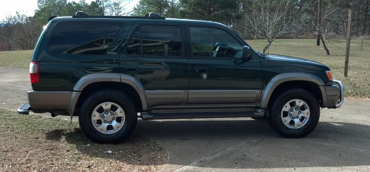 Photo Of 3rd Gen With Tacoma Rims Toyota 4runner Forum Largest 4runner Forum