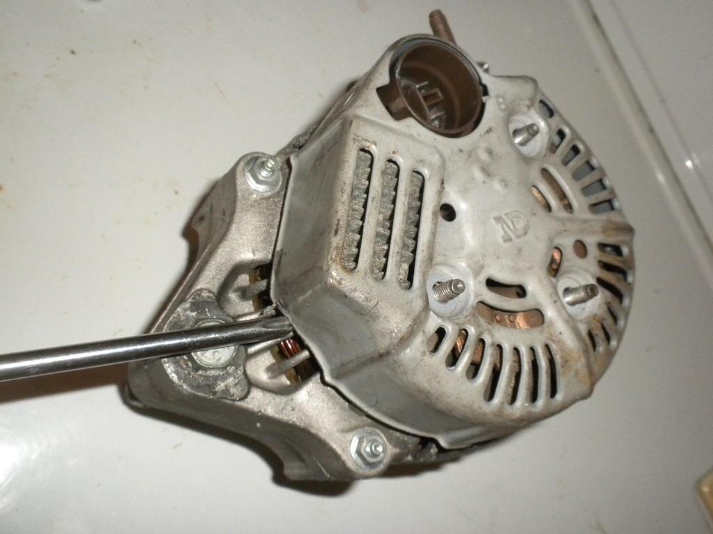 Alternator Brush kit, IC regulator, Diode Removal - Toyota