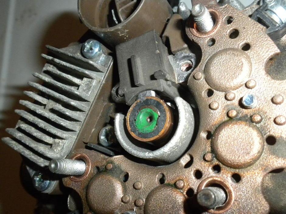 Alternator Brush kit, IC regulator, Diode Removal - Toyota 4Runner
