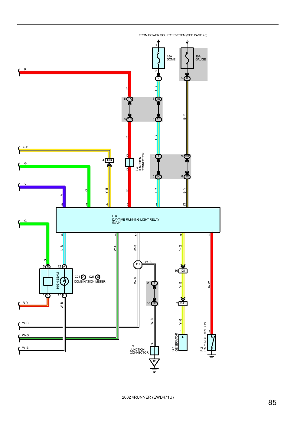 Toyota Headlight Switch Wiring Diagram : Toyota re efi diagram free engine image for user
