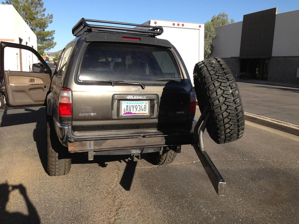 1997 4runner, full kenwood system, TRD tundra coil overs, LC coils in