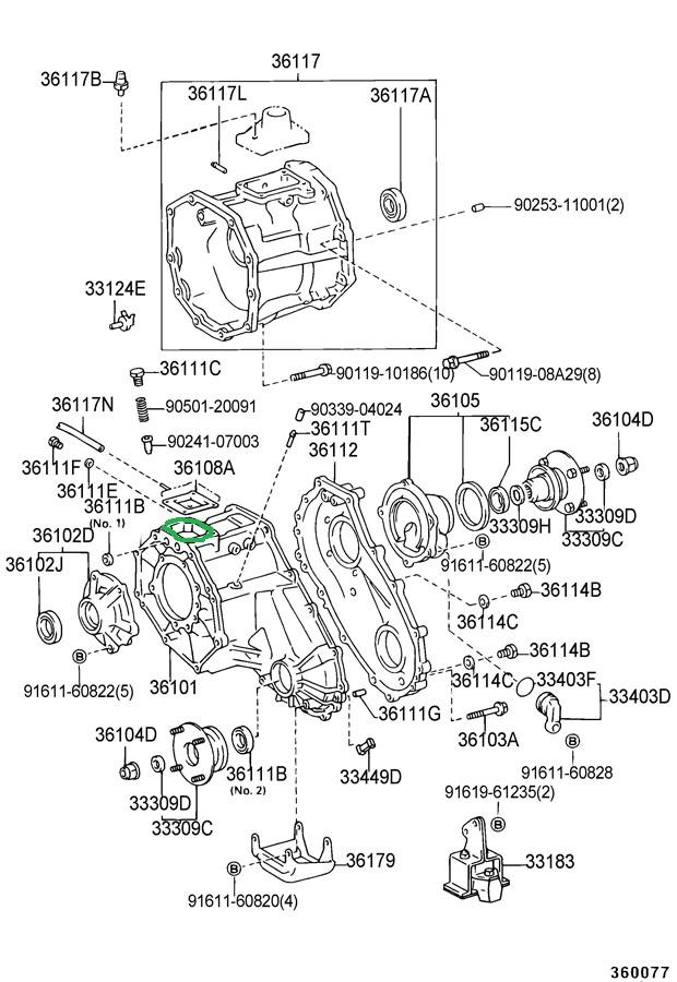 toyota r150f transmission diagram