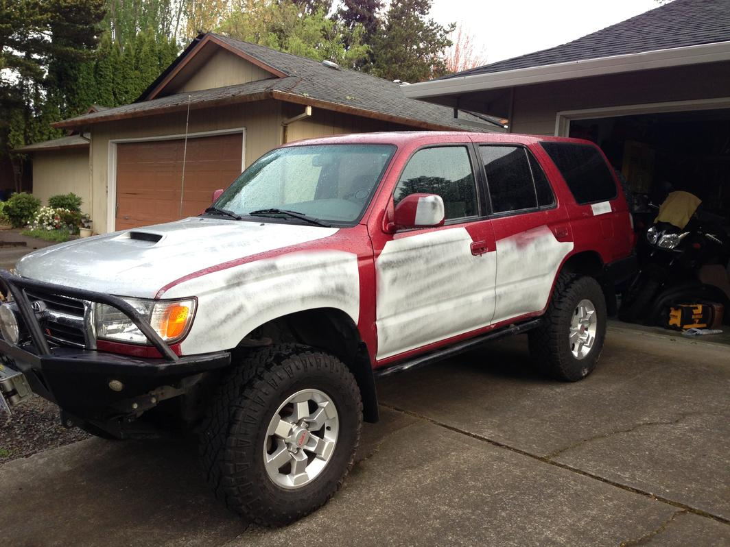 if you could paint your 4runner any color page 2 toyota 4runner forum largest 4runner forum. Black Bedroom Furniture Sets. Home Design Ideas