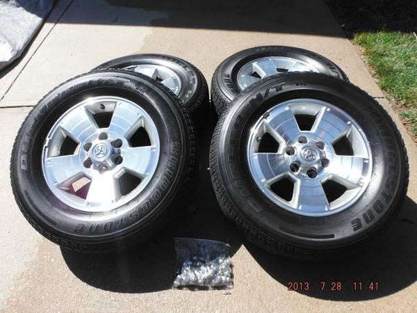 Craigslist Rims + Tires - Toyota 4Runner Forum - Largest