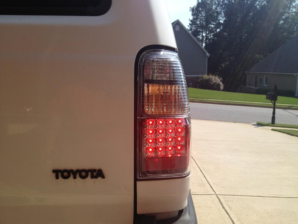 01 02 Led Tail Lights Fit 98 Toyota 4runner Forum