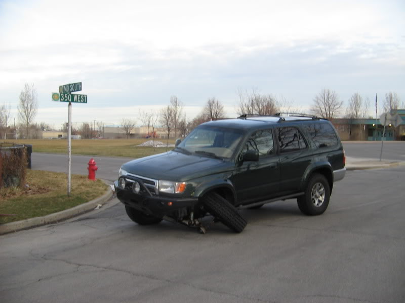 Official Lower Ball Joint Write Up Thread - Toyota 4Runner