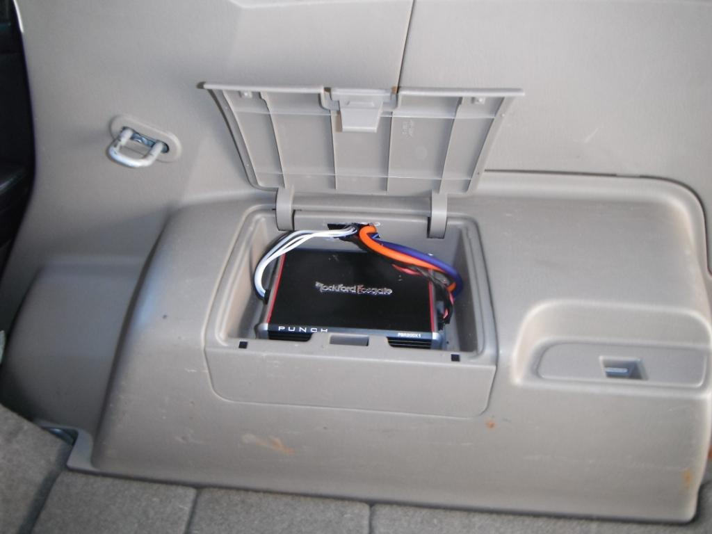 4runner Amp Wiring Schematic Diagrams Factory Diagram Fosgate And Subwoofer Install With Pics Toyota Forum Crutchfield