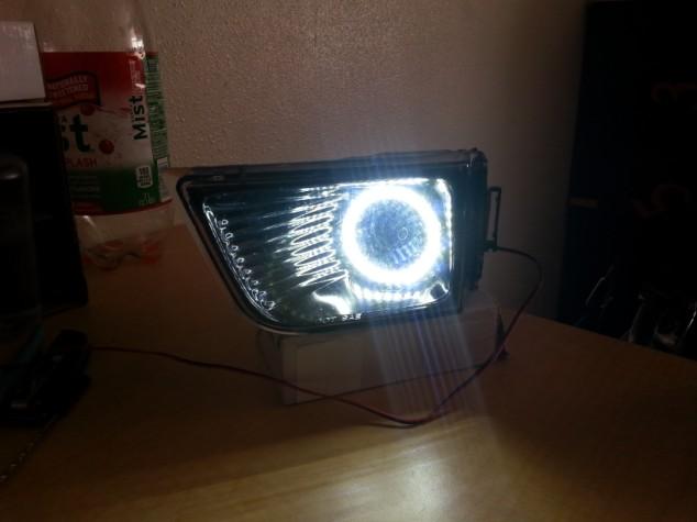 Brightest Blue LED Halo Ring Headlight Kit for Toyota 4Runner 03-05