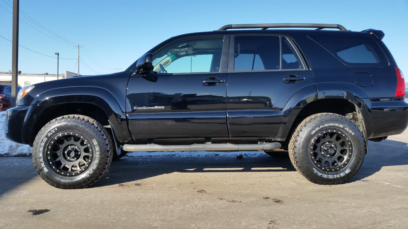 Let S See Pictures Your 4th Gen With Daystar Lift Kits Installed Toyota 4runner Forum Largest 4runner Forum
