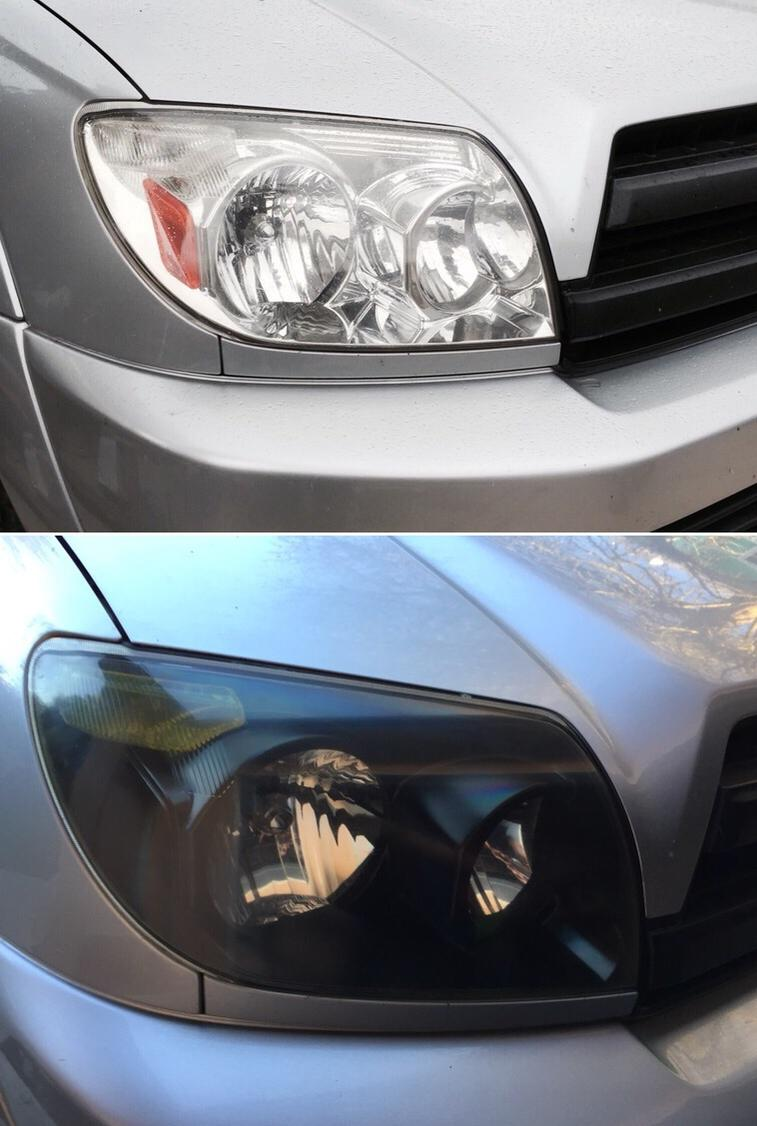 Another Blacked Out Headlight Thread Diy Lots Of Pics