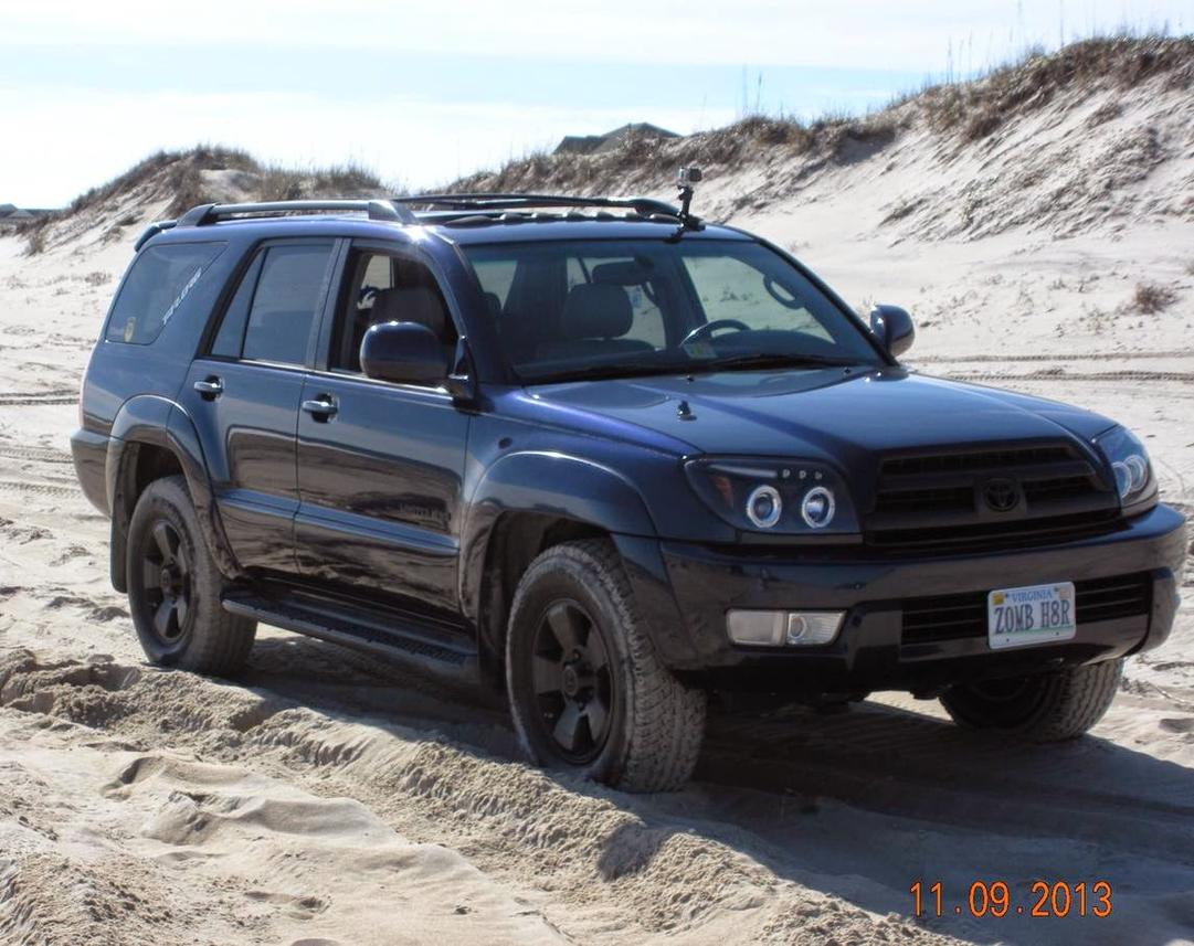 Galactic Grey With Blacked Out Headlights Toyota 4runner Forum