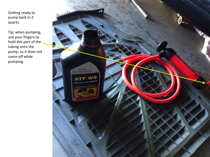 ATF Exchange (using the cooling line) - Toyota 4Runner Forum