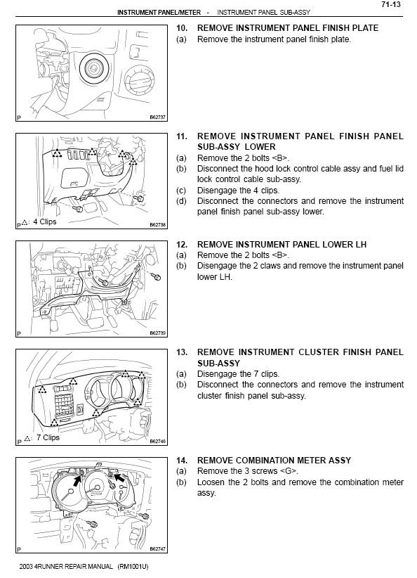 replacing cluster lens - Toyota 4Runner Forum - Largest