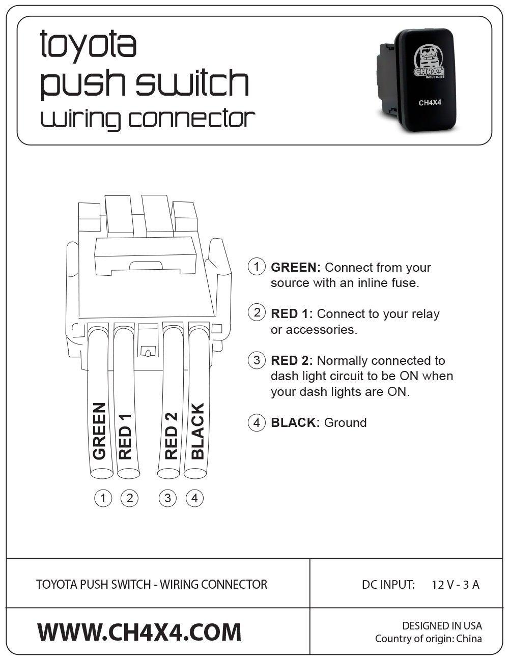 Fabulous Aftermarket Push Switch Wiring Toyota 4Runner Forum Largest Wiring 101 Kwecapipaaccommodationcom