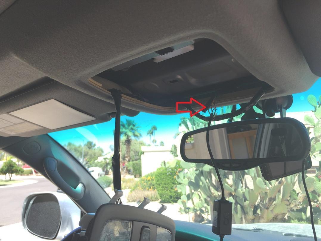 Dashcam hardwire into rearview mirror power-img_9686-jpg