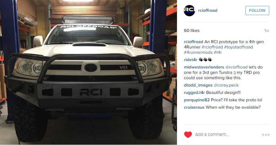 Looks like RCI is prototyping 4th Gen Bumpers!-rci-4th-gen-bumper-prototype-jpg