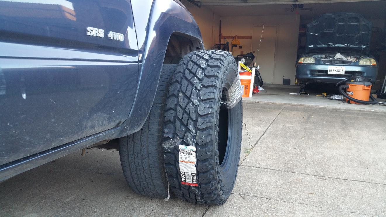Premise 75 Vs I Maxx Pro: Tire Size For A Leveled Rig? 255/75 Vs 265/70