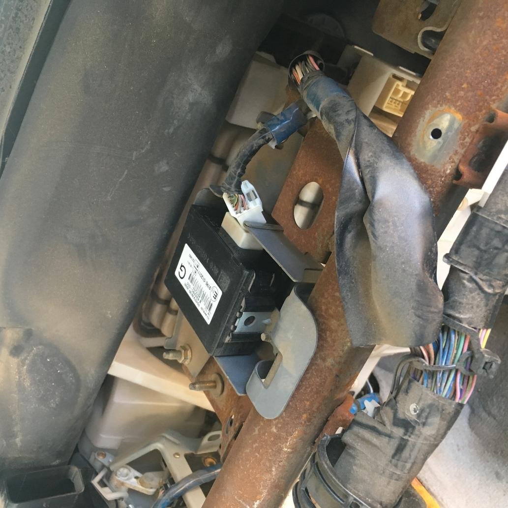 03-09 4runner immobiliser ecu location - Toyota 4Runner Forum