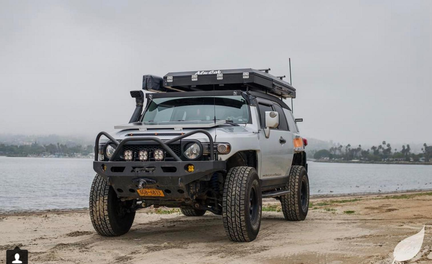 Has anyone tried out the new Alu-Cab RTT? - Toyota 4Runner
