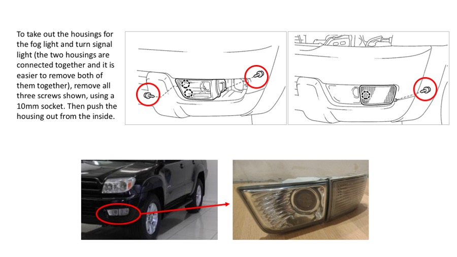 Front Turn Signal Housing removal? - Toyota 4Runner Forum - Largest