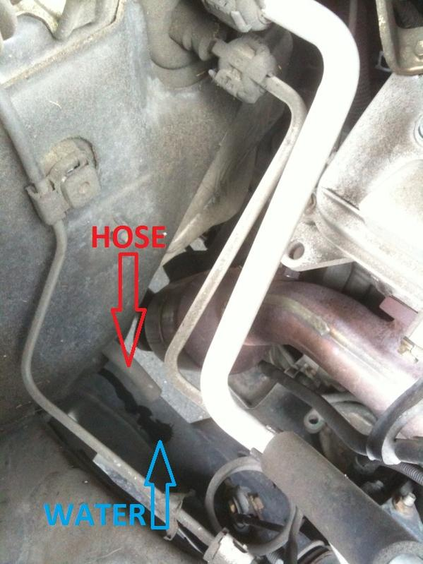 Leaky Hose Coming Out Of Passenger Side Toyota 4runner