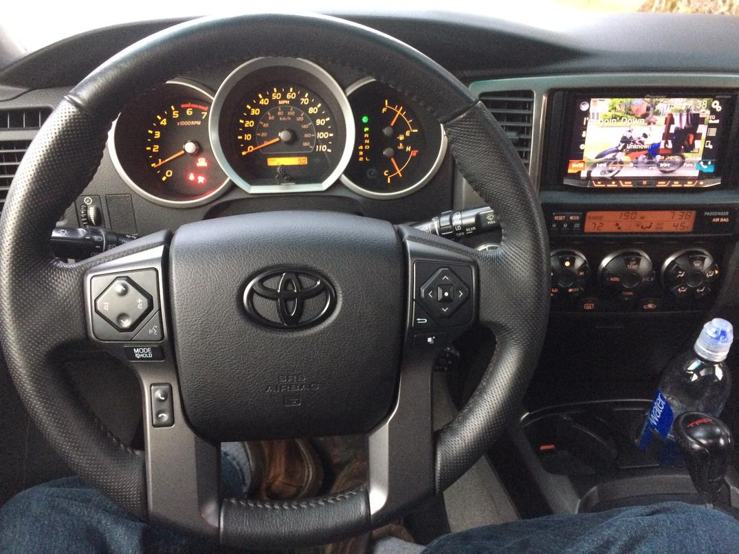 oem steering wheel swaps toyota 4runner forum largest. Black Bedroom Furniture Sets. Home Design Ideas