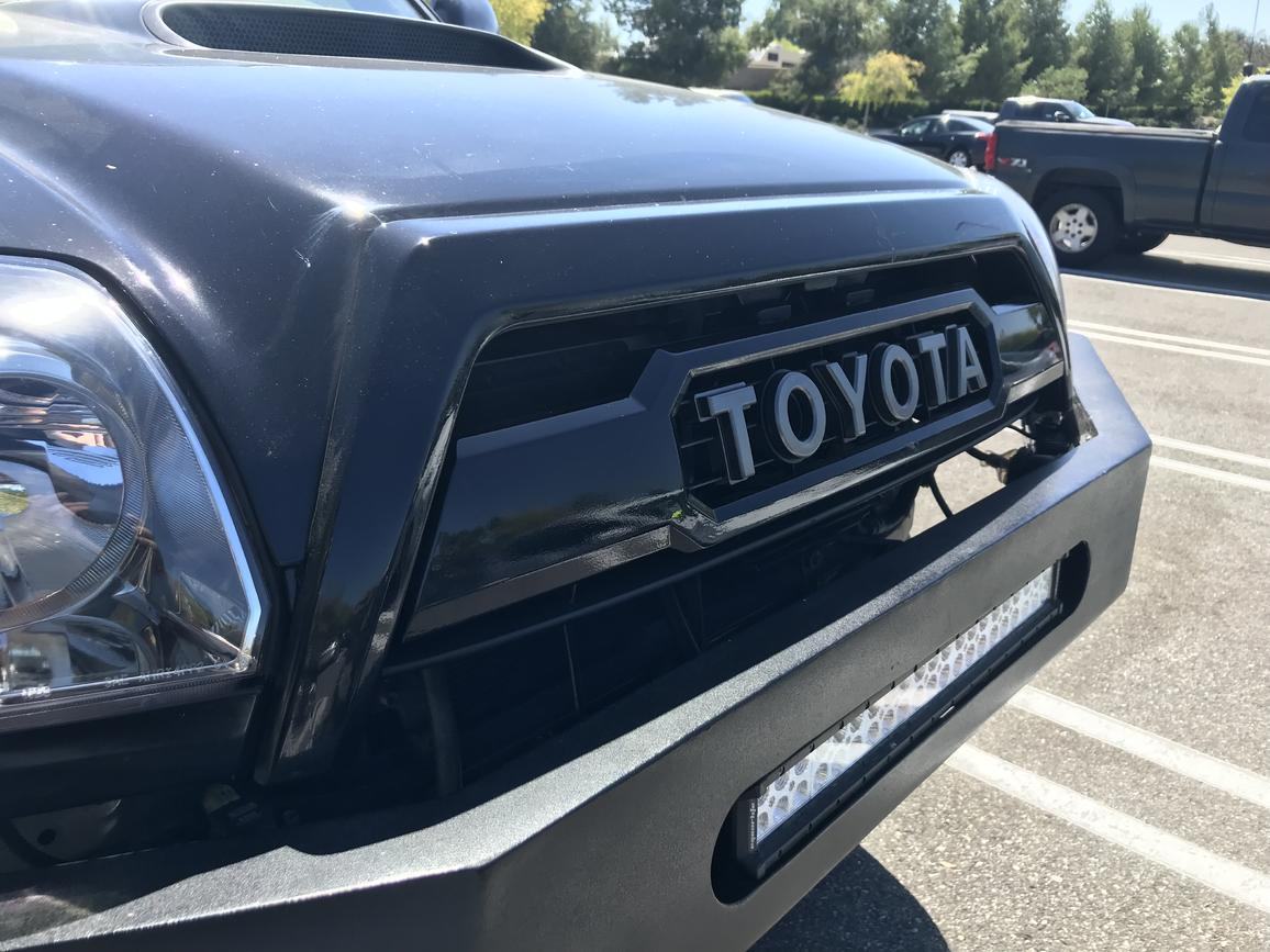 06 Front Grill Mod Trd Pro Tacoma Toyota 4runner Forum Largest 4runner Forum