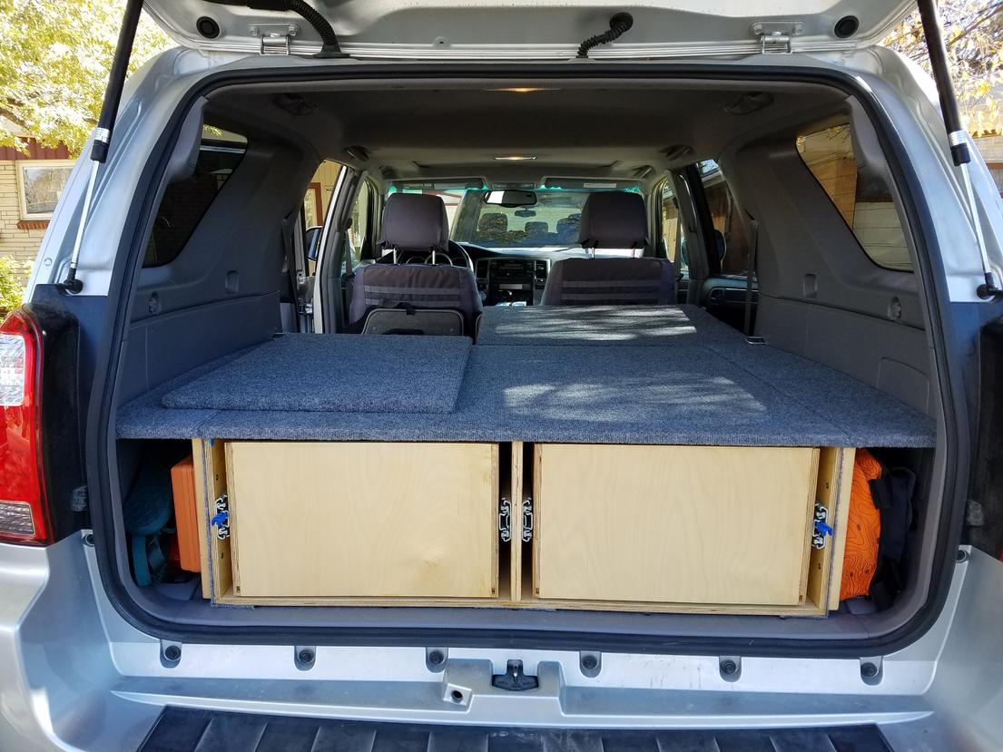 4th Gen Camping Storage System Diy Free Plans Page 5 Toyota 4runner Forum Largest 4runner Forum