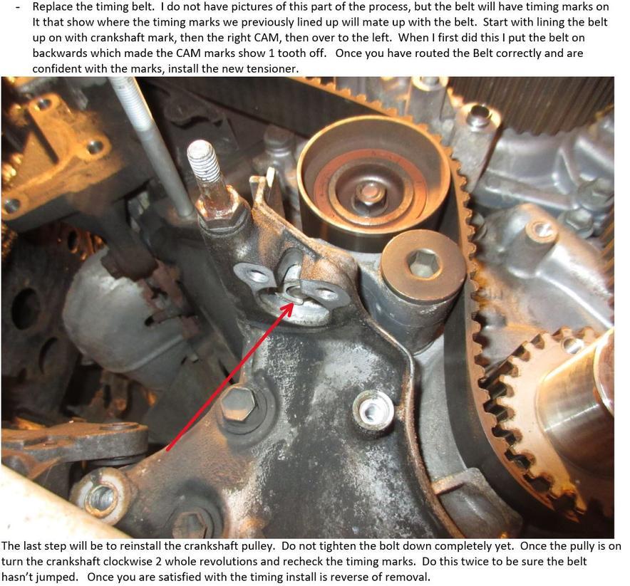 Guide: V8 Timing belt replacement 2UZ-FE VVT-i - Toyota