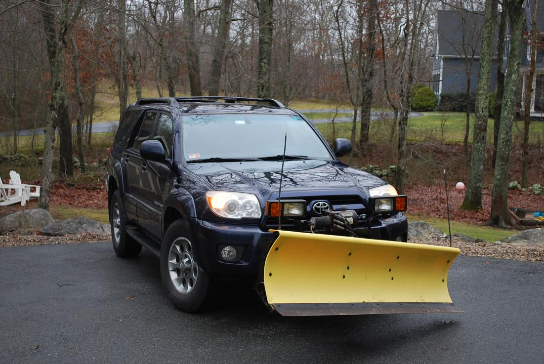 Fisher Snow Plow Mounted on 4Runner - Toyota 4Runner Forum - Largest on