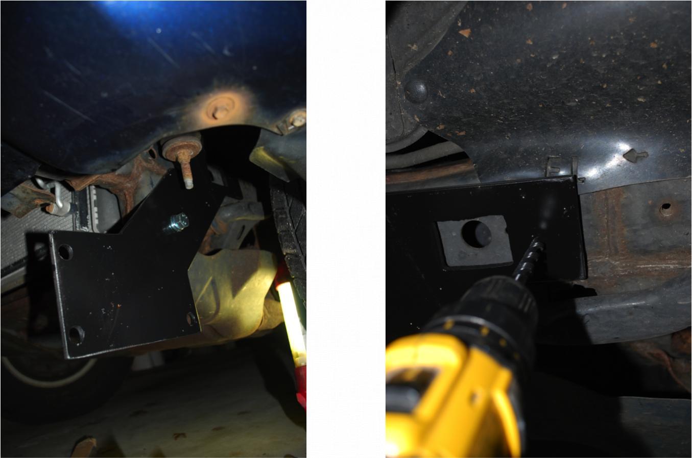 Fisher Snow Plow Mounted on 4Runner-4runner-plow-frame-monting-jpg