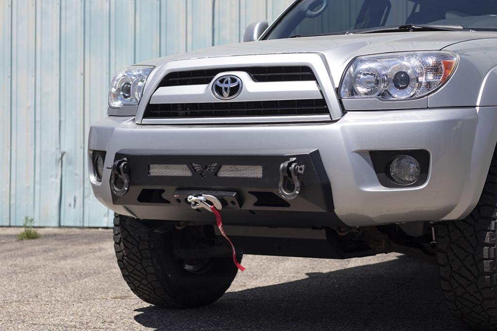 4th Gen 03-05 & 06-09 Front Integrated Bumper! 15 Percent Off Intro Pricing!-1-jpg